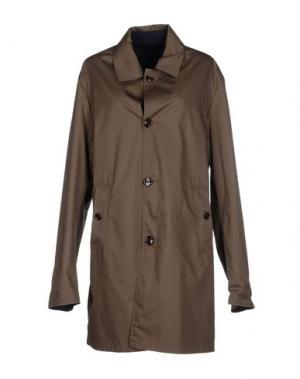 Легкое пальто MABRUN. Цвет: хаки