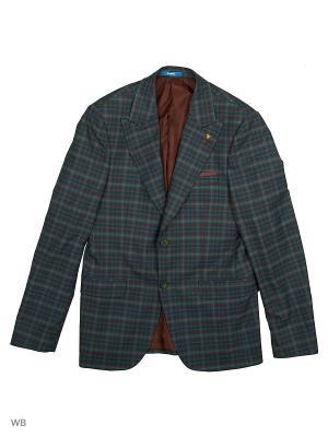 Пиджак BAWER. Цвет: бордовый