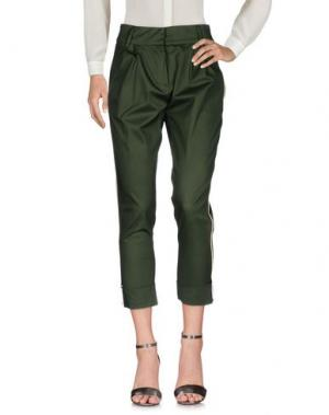 Повседневные брюки NORA BARTH. Цвет: зеленый-милитари