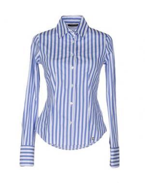 Pубашка TRY ME. Цвет: синий