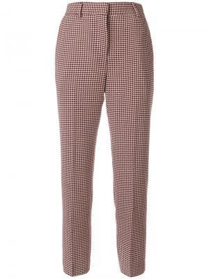 Укороченные брюки Paul Smith. Цвет: телесный