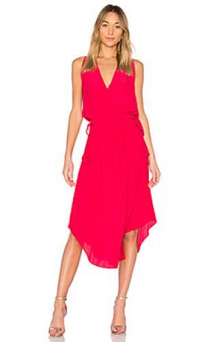 Платье hailey RAMY BROOK. Цвет: розовый