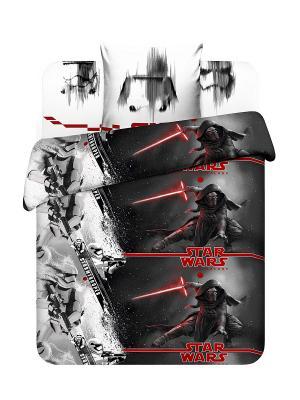 Комплект постельного белья Звездные войны Василек. Цвет: серый, темно-серый