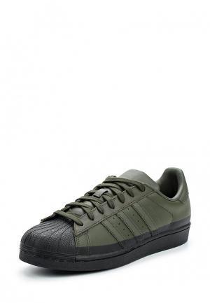 Кеды adidas Originals. Цвет: хаки