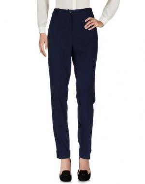 Повседневные брюки GIGUE. Цвет: темно-синий
