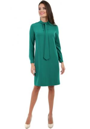 Платье MY STYLE. Цвет: зеленый