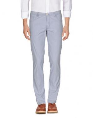 Повседневные брюки DOMENICO TAGLIENTE. Цвет: небесно-голубой