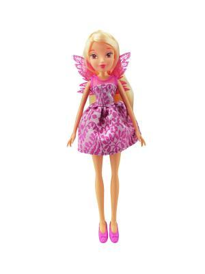 Кукла Winx Club Мисс Винкс, Stella. Цвет: светло-желтый, фуксия