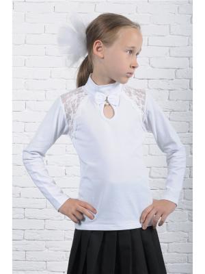 Блузка ZEBRA KIDS. Цвет: белый