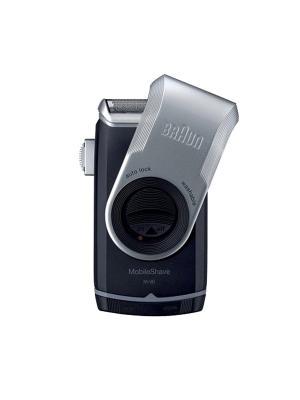 Электрическая бритва M90 Braun. Цвет: серый, темно-синий