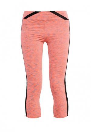 Капри Gym & Soul. Цвет: оранжевый