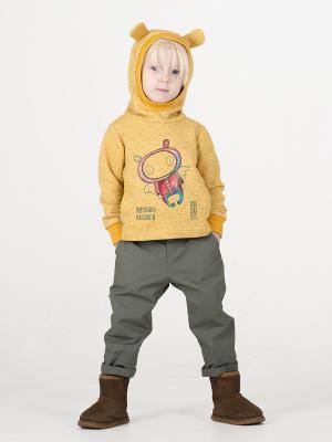 Худи Sardina Baby. Цвет: желтый