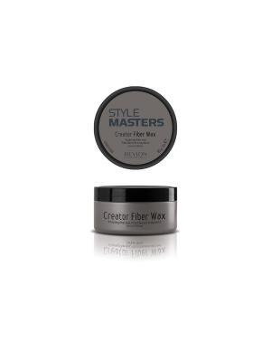 Воск формирующий с текстурирующим эффектом д/волос CREATOR FIBER WAX 85мл. Revlon Professional. Цвет: серый
