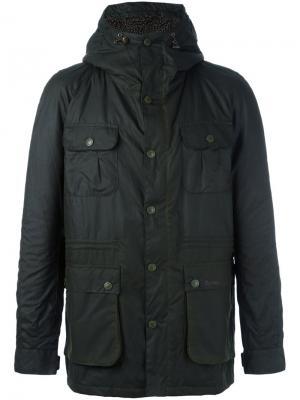 Куртка Brindle Barbour. Цвет: зелёный