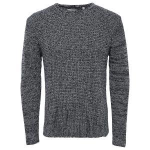Пуловер из тонкого трикотажа ONLY & SONS. Цвет: зеленый хаки,темно-серый,черный
