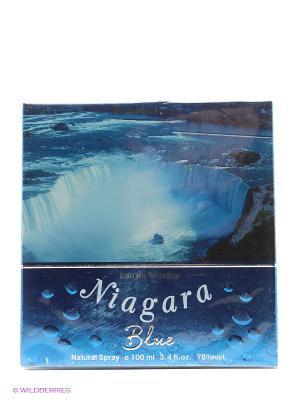 Туалетная вода NIAGARA BLUE 100 ML SPRAY PARFUMS GENTY. Цвет: прозрачный