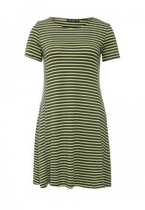 Платье Befree. Цвет: зеленый