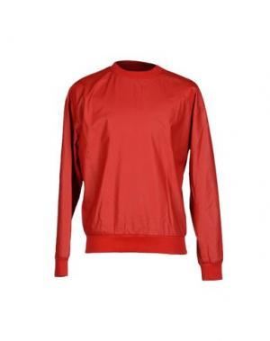 Футболка IVANO TRIOLO. Цвет: красный