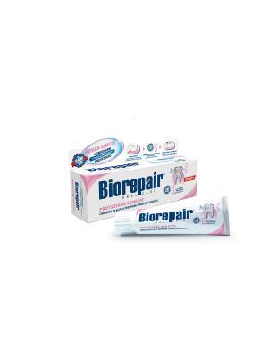 Зубная паста для защиты дёсен Biorepair Gum Protection / Protezione Gengive. Цвет: белый