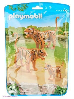 Зоопарк: Семья Тигров Playmobil. Цвет: коричневый