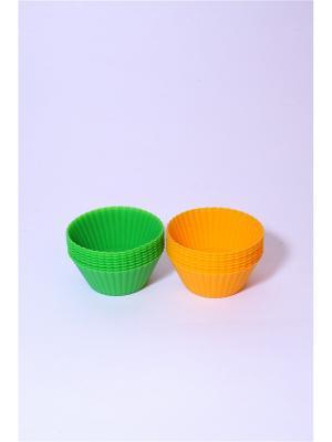 Набор форм силиконовых Vetta. Цвет: зеленый, желтый