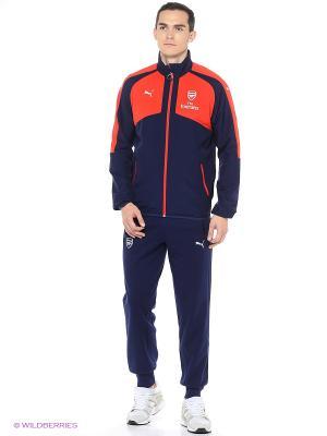 Брюки AFC Casuals Performance Sweat Pants Puma. Цвет: синий