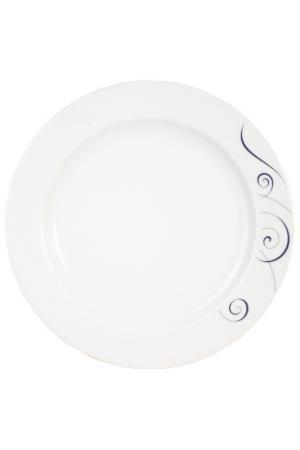 Тарелка обеденная, набор 6 шт KAHLA. Цвет: белый