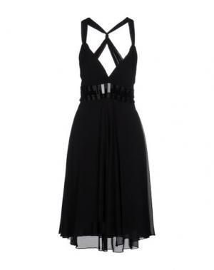 Платье до колена CARLO PIGNATELLI. Цвет: черный