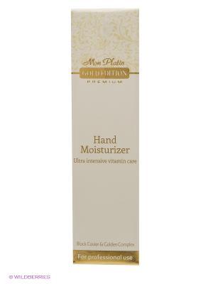 Ультраинтенсивный витаминный увлажняющий крем для рук, обогащенный экстрактом черной икры, 100 мл Mon Platin DSM. Цвет: белый