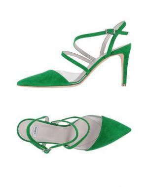 Туфли NATAN. Цвет: зеленый