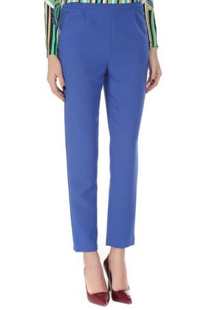 Укороченные брюки с карманами Cyrille Gassiline. Цвет: синий