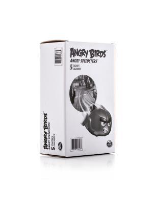 Игрушка Angry Birds набор из 5 птичек на колесах SPIN MASTER. Цвет: белый, черный
