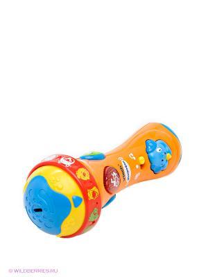 Микрофон Vtech. Цвет: оранжевый, желтый, синий