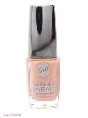 Устойчивый лак для ногтей с глянцевым эффектом Glam Wear, тон 441 Bell. Цвет: бежевый