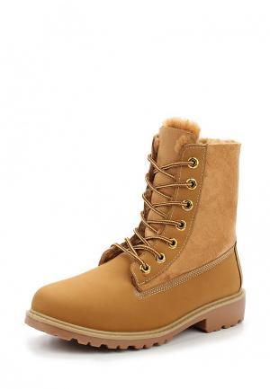 Ботинки Y & L. Цвет: коричневый