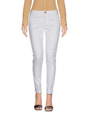 Повседневные брюки SQUAD². Цвет: белый