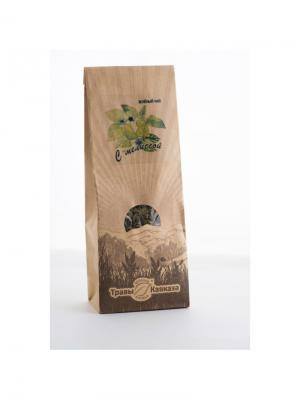 Чай зеленый с мелиссой Травы Кавказа. Цвет: бежевый