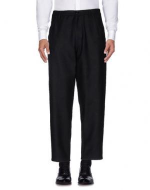 Повседневные брюки RAF SIMONS. Цвет: темно-синий