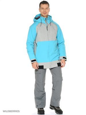 Куртка O'Neill. Цвет: серый, голубой