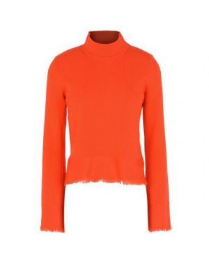 Водолазки EDUN. Цвет: оранжевый