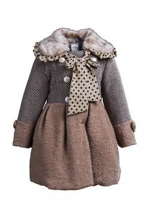 Пальто Cascatto. Цвет: коричневый