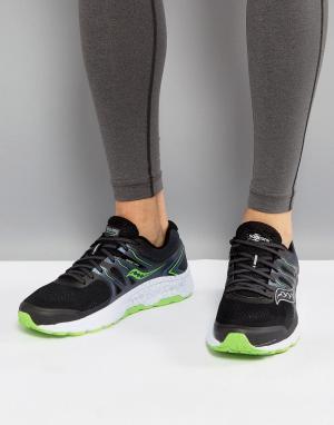 Saucony Черные кроссовки Running Omni 16 S20370-3. Цвет: черный