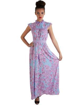 Платье Ksenia Knyazeva. Цвет: голубой
