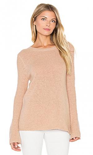 Свитер с рукавами-колокол selene 360 Sweater. Цвет: беж
