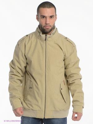 Куртка Quiksilver. Цвет: светло-бежевый