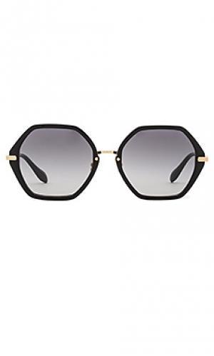 Солнцезащитные очки willow Sonix. Цвет: черный