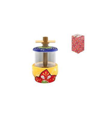 Мельница для специй Солнечный цветок Elan Gallery. Цвет: желтый, синий, салатовый, красный