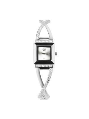 Часы ювелирные коллекция Q-Chic, QWILL, Часовой завод Ника QWILL. Цвет: серебристый