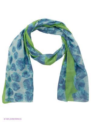Платок Venera. Цвет: синий, бирюзовый, светло-зеленый