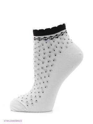 Носки, комплект 5 пар Alla Buone. Цвет: белый